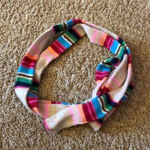 Thin colorful scarf